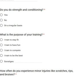 Surveys on Parkour – Common Errors and Insights